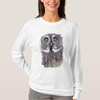 Great Gray Owl (Strix nebulosa) T-Shirt
