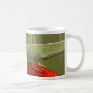 Great Green Bush-Cricket  (Tettigonia viridissima) Coffee Mug