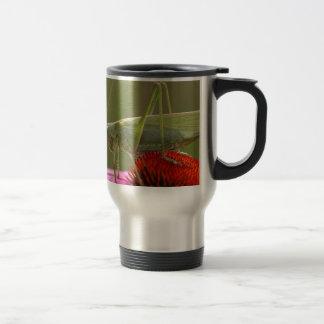 Great Green Bush-Cricket  (Tettigonia viridissima) Travel Mug