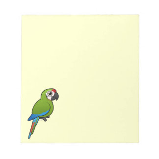 Great Green Macaw Memo Notepad