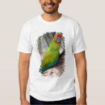 Great green macaw on a tree t shirts