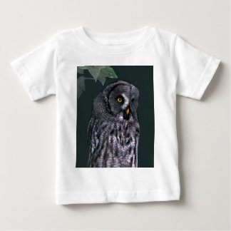 Great Grey Owl Baby T-Shirt