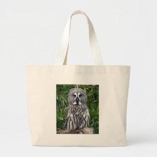 Great Grey Owl Jumbo Tote Bag