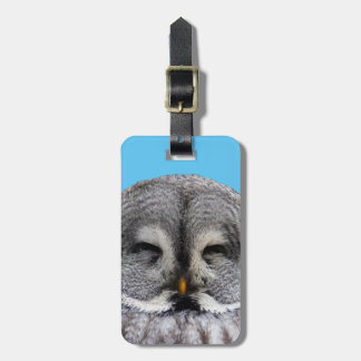 Great Grey Owl Bag Tag