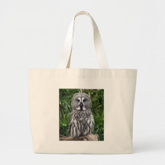 Great Grey Owl Large Tote Bag
