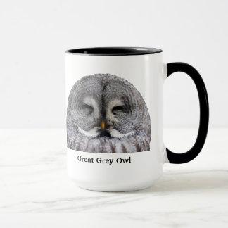 Great Grey Owl Mug