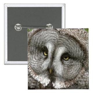 Great Grey Owl Pin