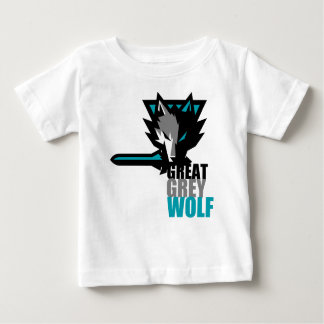 Great Grey Wolf Baby T-Shirt