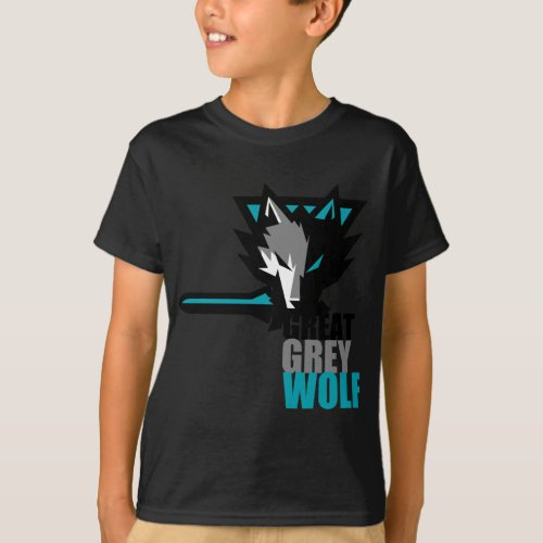 Great Grey Wolf T_Shirt