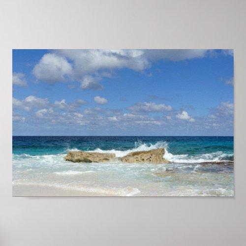 Great Guana Cay Beach, Bahamas Poster