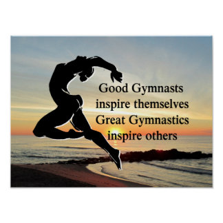 GREAT GYMNAST POSTER