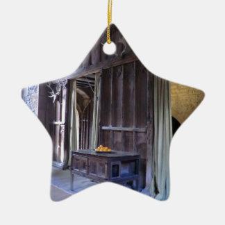 Great Hall at Haddon Hall Ceramic Ornament