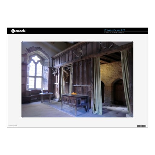 Great Hall at Haddon Hall Skins For Laptops