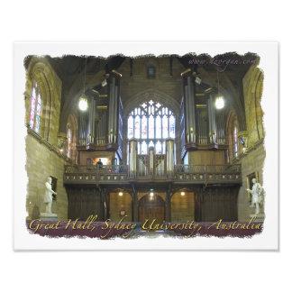 Great Hall, Sydney University, Australia Photo Print