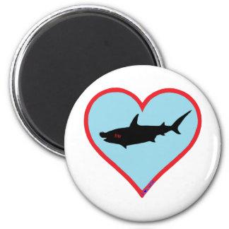 great hammerhead shark fridge magnets