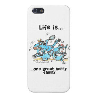 great_happy_family iPhone SE/5/5s cover