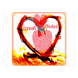 Great HeArt Postcard
