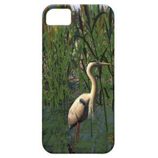 Great Heron at Meteor Lake iPhone SE/5/5s Case