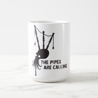 Great Highland Bagpipe - the pipes are calling Coffee Mug