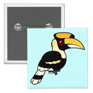 Great Hornbill Pinback Button