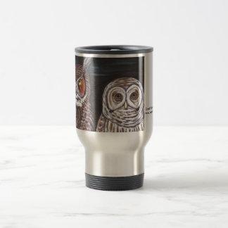 Great Horned & Barred Owls Mug