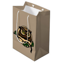 Great Horned Moon Medium Gift Bag