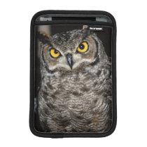 Great Horned Owl  2 iPad Mini Sleeve