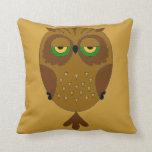 Great Horned Owl 2 Pillows