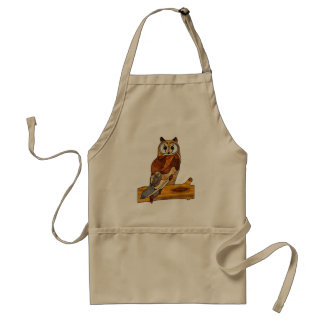 Great Horned Owl Adult Apron