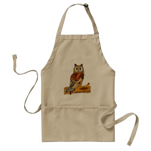 Great Horned Owl Apron