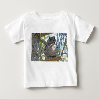 Great Horned Owl Baby T-Shirt