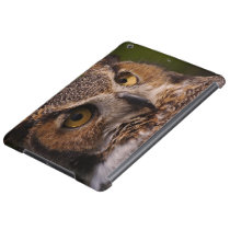 Great Horned Owl, Bubo virginianus Case For iPad Air