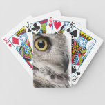 Great Horned Owl - Bubo Virginianus Subarcticus Bicycle Playing Cards