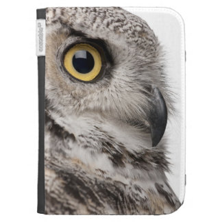 Great Horned Owl - Bubo Virginianus Subarcticus Kindle Cases