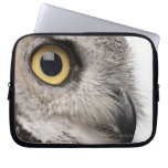 Great Horned Owl - Bubo Virginianus Subarcticus Computer Sleeve
