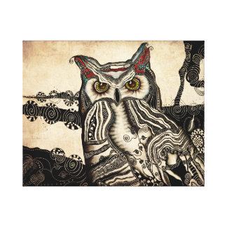 Great Horned Owl Canvas