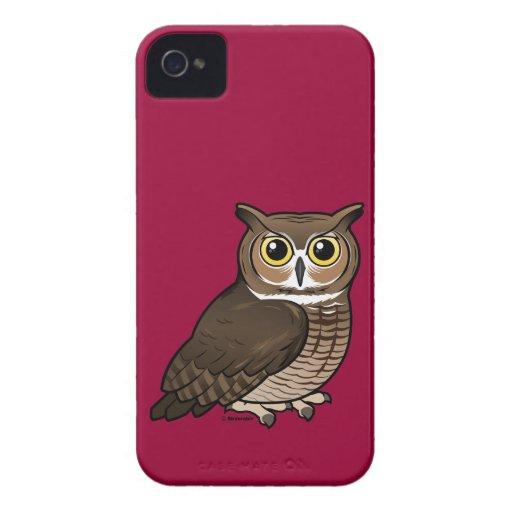 Great Horned Owl Blackberry Case