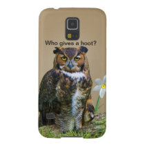Great Horned Owl Customizable Galaxy S5 Cover