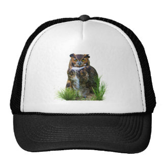 Great Horned Owl Customizable Hats