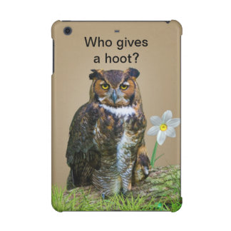 Great Horned Owl Customizable iPad Mini Retina Case