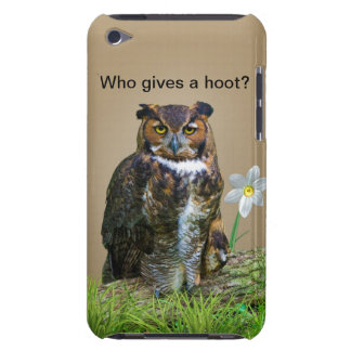 Great Horned Owl Customizable iPod Touch Cover