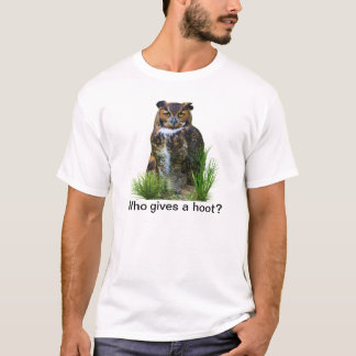 Great Horned Owl Customizable T-Shirt