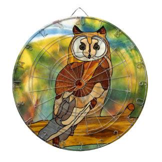 Great Horned Owl Dartboards