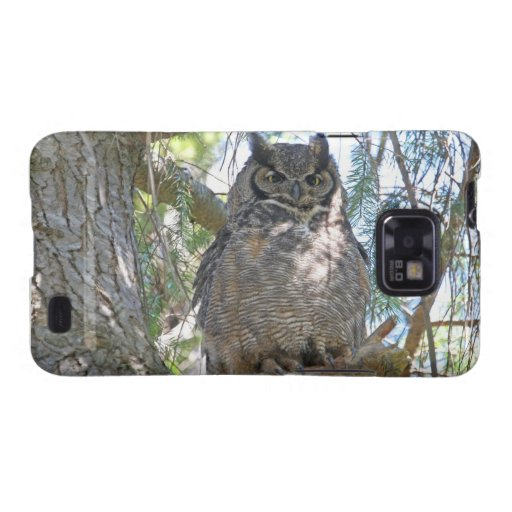 Great Horned Owl Galaxy S2 Case