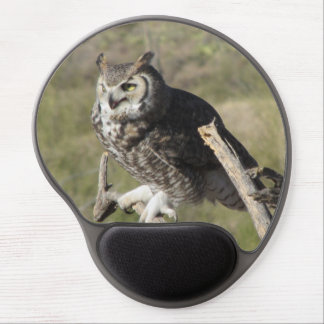 Great Horned Owl Gel Mouse Pad