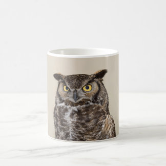 Great Horned Owl Greeting Mug