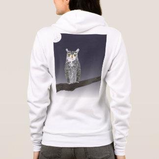 Great Horned Owl Hoodie