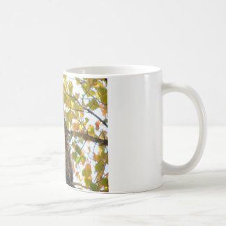 Great Horned Owl in a Tree Coffee Mug