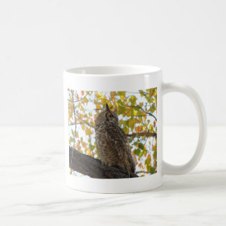 Great Horned Owl in a Tree Mug