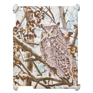 Great Horned Owl iPad Cover